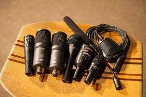 Cajon hangosítás 1 -mikrofonok