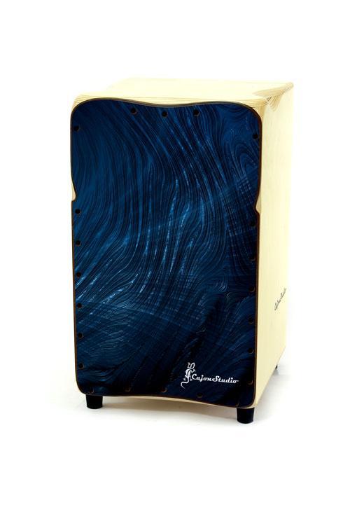 Blue Printed Cajon